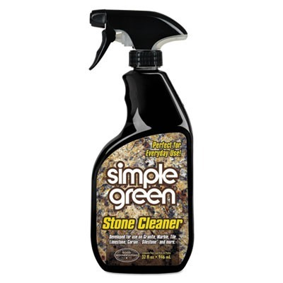 Non-Abrasive Stone Cleaner, Unscented, 32oz Bottle