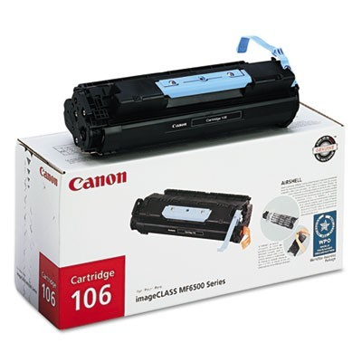 0264B001 (106) TONER, 5000 PAGE-YIELD, BLACK