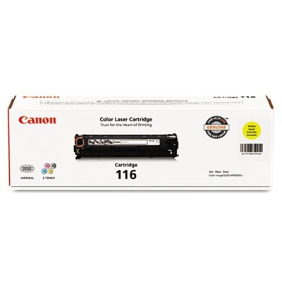 1977B001 (116) TONER, 1500 PAGE-YIELD, YELLOW