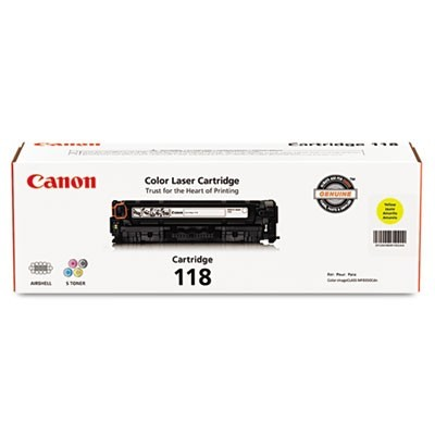 2659B001 (118) TONER, 2900 PAGE-YIELD, YELLOW