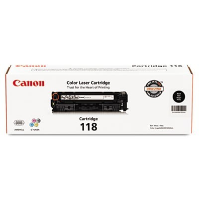 2662B001 (118) TONER, 3400 PAGE-YIELD, BLACK