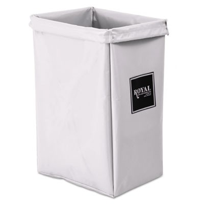 Hamper, Hamper Bag Only, 30 Gal, 15w X 16d X 30h, White