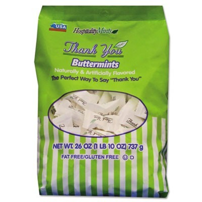Thank You Buttermints Candies, 26 Oz Bag