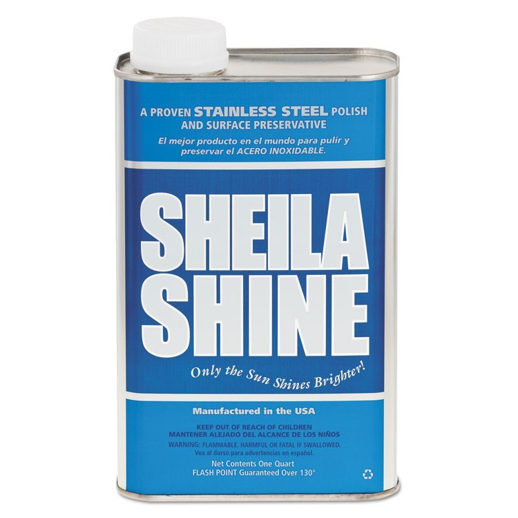Stainless Steel Cleaner & Polish, 1qt Can