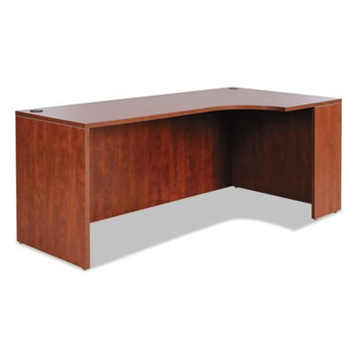 ALERA VALENCIA RIGHT CORNER CREDENZA SHELL, 70.88W X 35.38D X 29.5H, MEDIUM CHERRY
