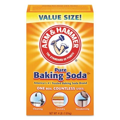 Baking Soda, 64 Oz Box, 6/carton