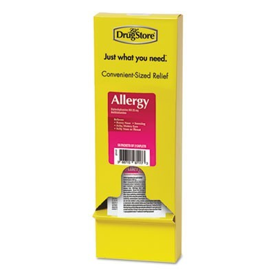 Allergy Relief Tablets, Refill Pack, Two Tablets/packet, 50 Packets/box