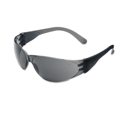 Checklite Scratch-Resistant Safety Glasses, Gray Lens