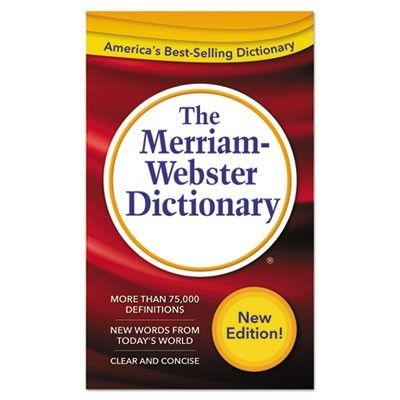 The Merriam-Webster Dictionary, 11th Edition, Paperback, 960 Pages