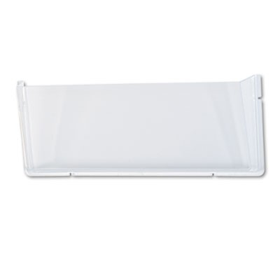 UNBREAKABLE DOCUPOCKET WALL FILE, LEGAL, 17 1/2 X 3 X 6 1/2, CLEAR