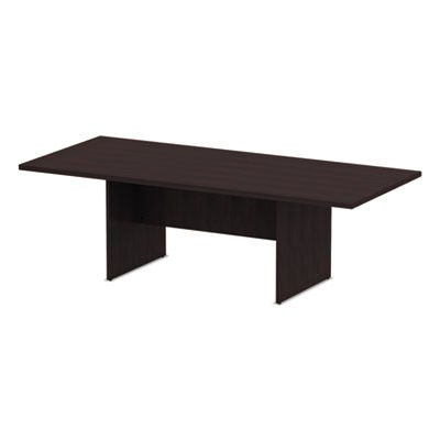 ALERA VALENCIA SERIES CONFERENCE TABLE, RECT, 94 1/2 X 41 3/8 X 29 1/2, ESPRESSO