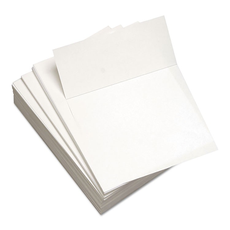 CUSTOM CUT-SHEET COPY PAPER, 92 BRIGHT, 24 LB, 8.5 X 11, WHITE, 500/REAM