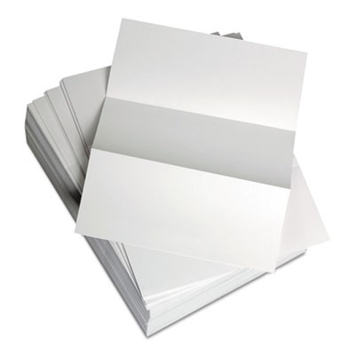 CUSTOM CUT-SHEET COPY PAPER, 92 BRIGHT, 24LB, 8.5 X 11, WHITE, 500/REAM