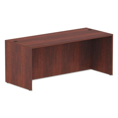ALERA VALENCIA SERIES STRAIGHT FRONT DESK SHELL, 71W X 29.5D X 29.5H, MEDIUM CHERRY