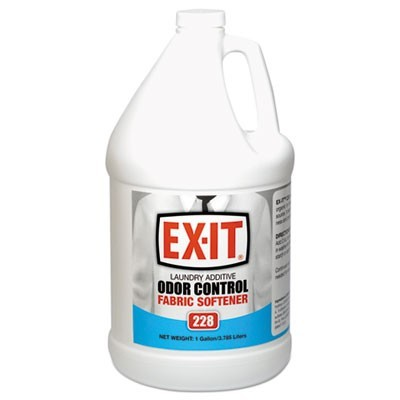 Ex-It Fabric Softener, Liquid, 1gal Bottle, 4/ct