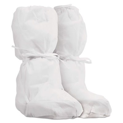 Pure A5 Sterile Boot Covers, White, Small/medium, 30/carton