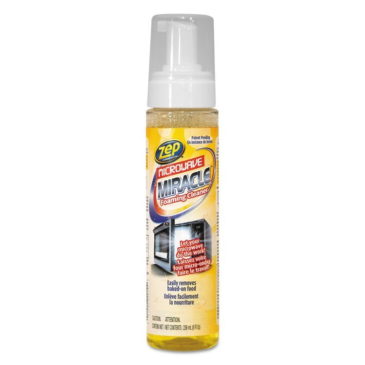Microwave Miracle Foaming Cleaner, 8 Oz Bottle