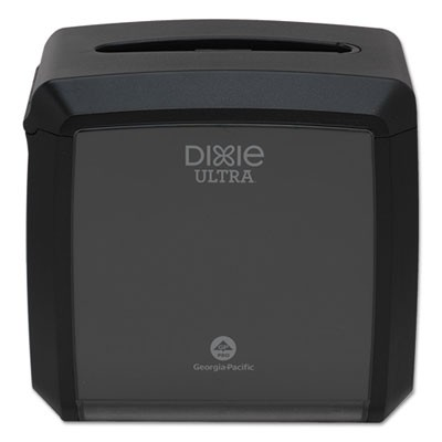 "TABLETOP NAPKIN DISPENSER, 7.6"" X 6.1"" X 7.2"", BLACK"