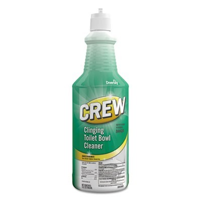 CREW CLINGING TOILET BOWL CLEANER, FRESH SCENT, 32 OZ SQUEEZE BOTTLE, 6/CARTON