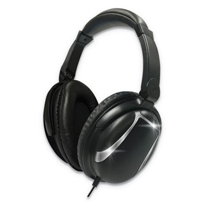 BASS 13 HEADPHONE WITH MIC, BLACK
