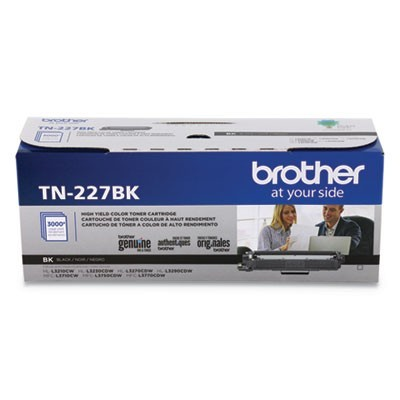 TN227BK HIGH-YIELD TONER, 3000 PAGE-YIELD, BLACK