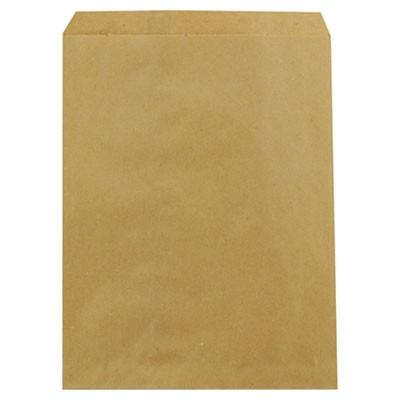 "KRAFT PAPER BAGS, 8.5"" X 11"", BROWN, 2,000/CARTON"