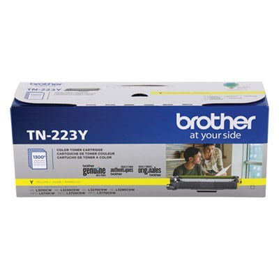 TN223Y TONER, 1300 PAGE-YIELD, YELLOW