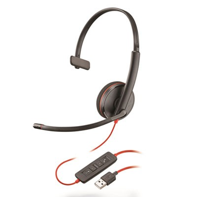 BLACKWIRE 3210, MONAURAL, OVER THE HEAD HEADSET