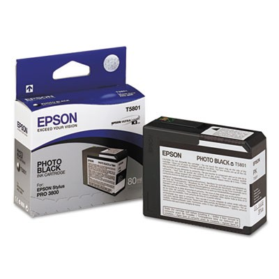 T580100 Ultrachrome K3 Ink, Photo Black
