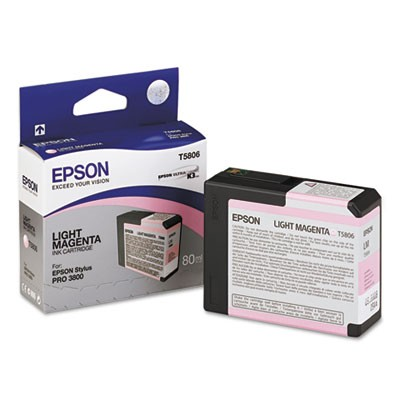 T580600 Ultrachrome K3 Ink, Light Magenta