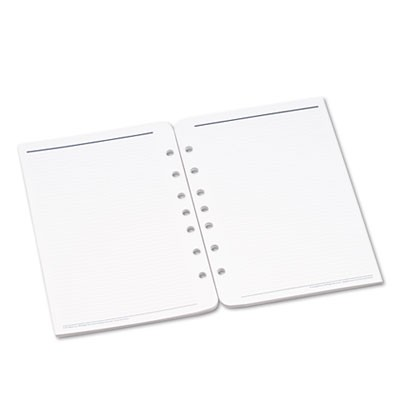 LINED PAGES FOR ORGANIZER, 8 1/2 X 5 1/2