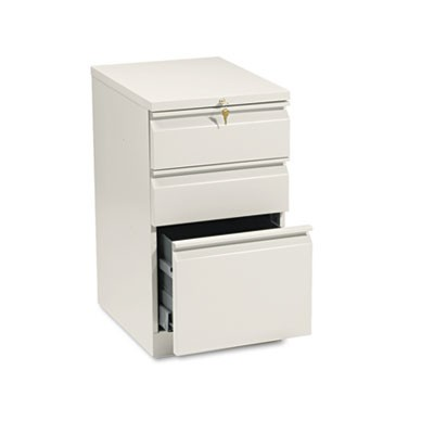 EFFICIENCIES MOBILE BOX/BOX/FILE PEDESTAL, 15W X 19.88D X 28H, PUTTY