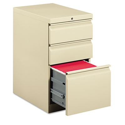EFFICIENCIES MOBILE BOX/BOX/FILE PEDESTAL, 15W X 22.88D X 28H, PUTTY
