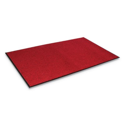 Rely-On Olefin Indoor Wiper Mat, 48 X 72, Castellan Red