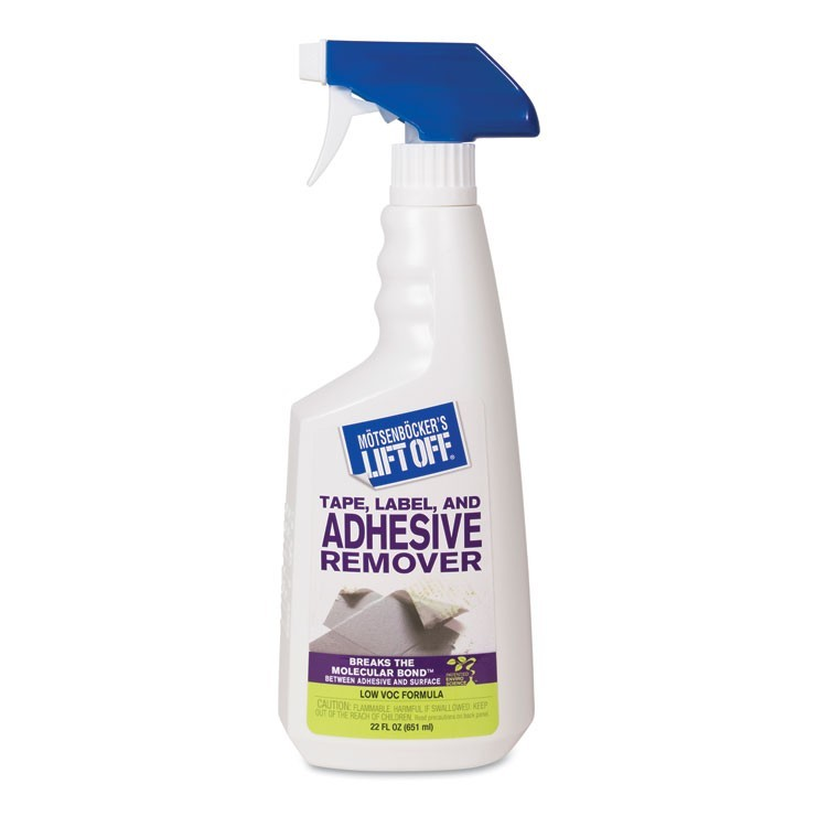 TAPE, LABEL AND ADHESIVE REMOVER, 22OZ TRIGGER SPRAY, 6.CARTON
