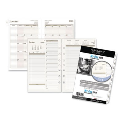 TWO-PAGES-PER-DAY PLANNING PAGES, 8 1/2 X 5 1/2, 2020