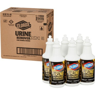 Urine Remover For Stains And Odors, 32 Oz Pull Top Bottle, 6/carton