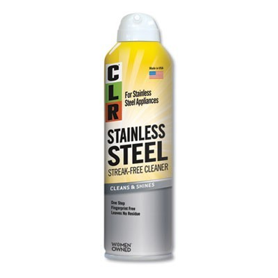 Stainless Steel Cleaner, Citrus, 12oz Can, 6/carton