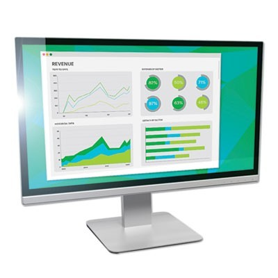"ANTIGLARE FRAMELESS FILTER FOR 19"" WIDESCREEN MONITOR, 16:10 ASPECT RATIO"