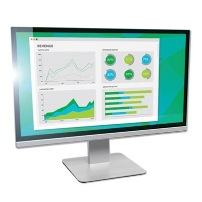 "ANTIGLARE FRAMELESS FILTER FOR 24"" WIDESCREEN MONITOR, 16:9 ASPECT RATIO"