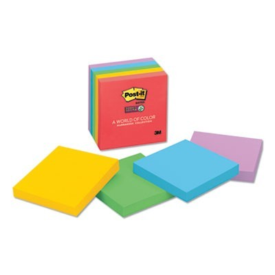 Pads In Marrakesh Colors, 3 X 3, 90-Sheet, 5/pack