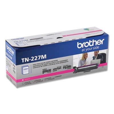 TN227M HIGH-YIELD TONER, 2300 PAGE-YIELD, MAGENTA