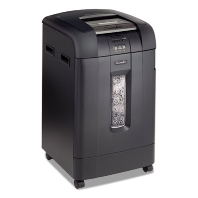 STACK-AND-SHRED 750M AUTO FEED MICRO-CUT SHREDDER, 750 AUTO/10 MANUAL SHEET CAPACITY