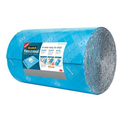 "FLEX AND SEAL SHIPPING ROLL, 15"" X 50 FT, BLUE/GRAY"