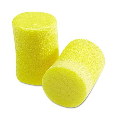 E A R Classic Earplugs, Pillow Paks, Uncorded, Foam, Yellow, 30 Pairs