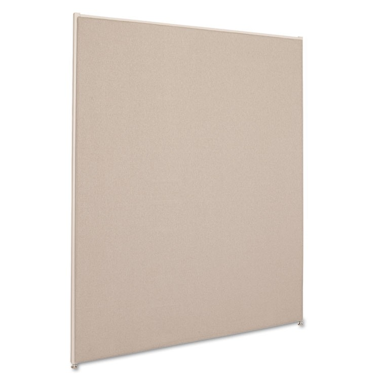 Verse Office Panel, 48w X 60h, Gray