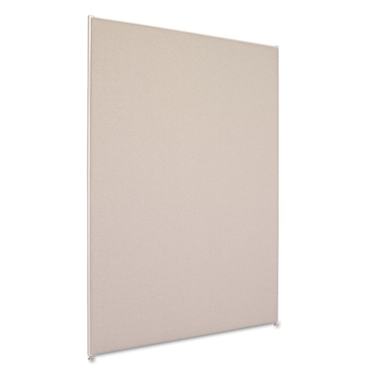 Verse Office Panel, 48w X 72h, Gray
