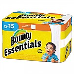 ESSENTIALS PAPER TOWELS, 50 SHEETS/ROLL, 12 ROLLS/CARTON
